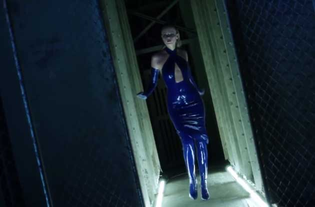 we created posthaste a limited edition of shoes to match Atsuko Kudo latex for Jeff Bark's Mercedes-Benz fashion film